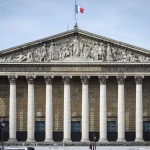 L'Assemblée nationale (Palais Bourbon), 126, rue de l'Université, 75007 Paris.