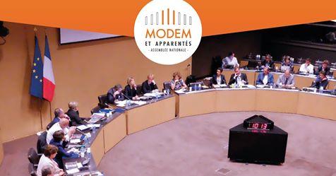 Groupe MoDem et apparentés : 1 an de mandat